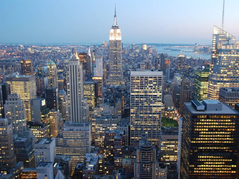 New york city die stadt die niemals schläft